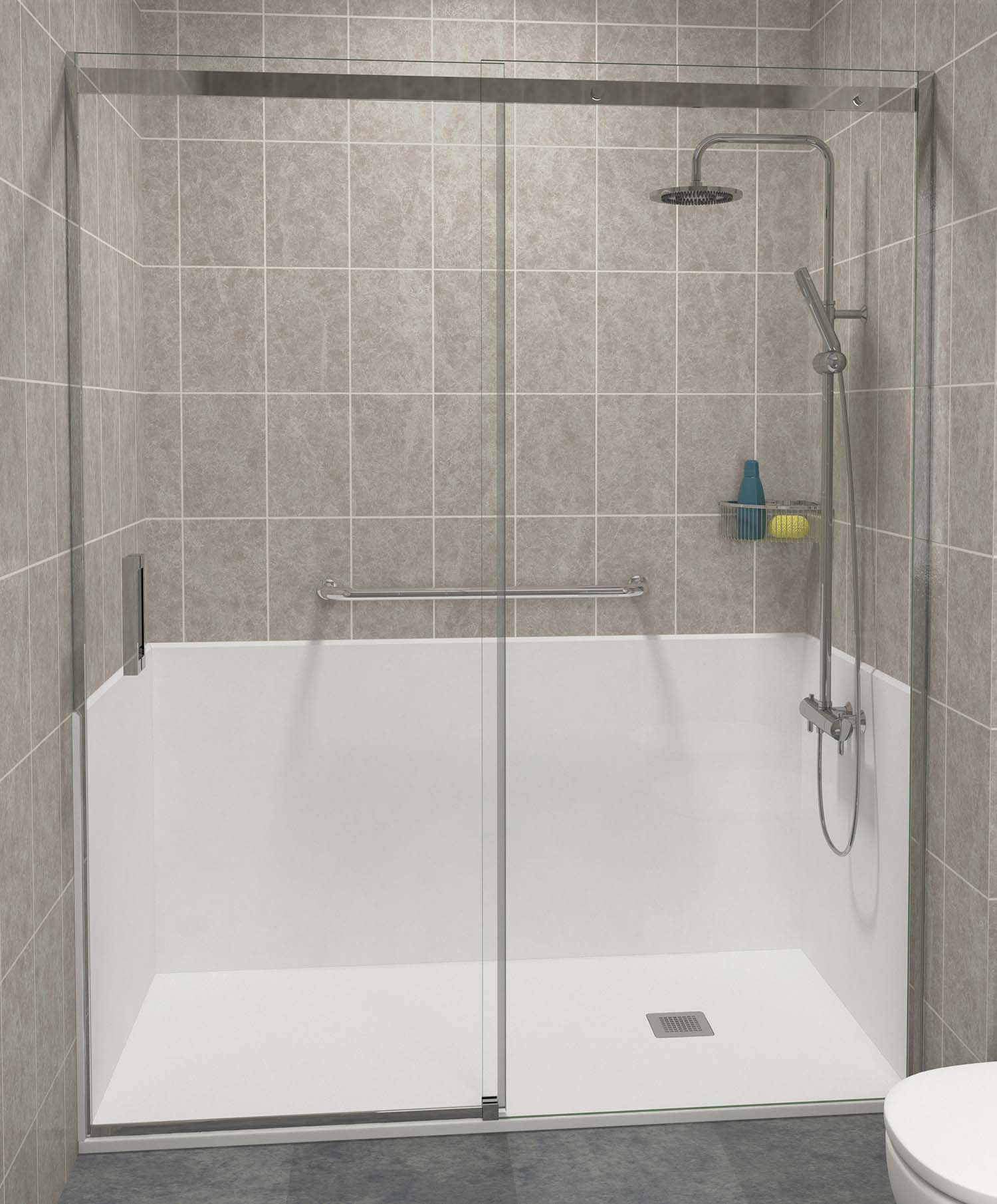 Cambiar de ba era a ducha duchaya for Cambiar banera por ducha