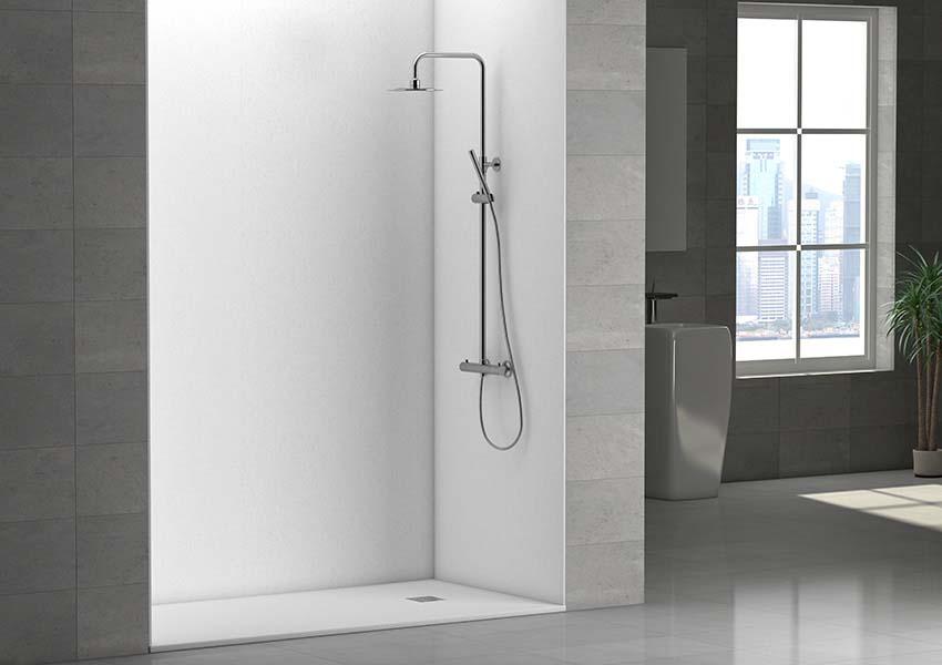 Convertir baera en ducha affordable este cuarto de bao principal con ducha y baera doble est - Convertir banera en ducha ...