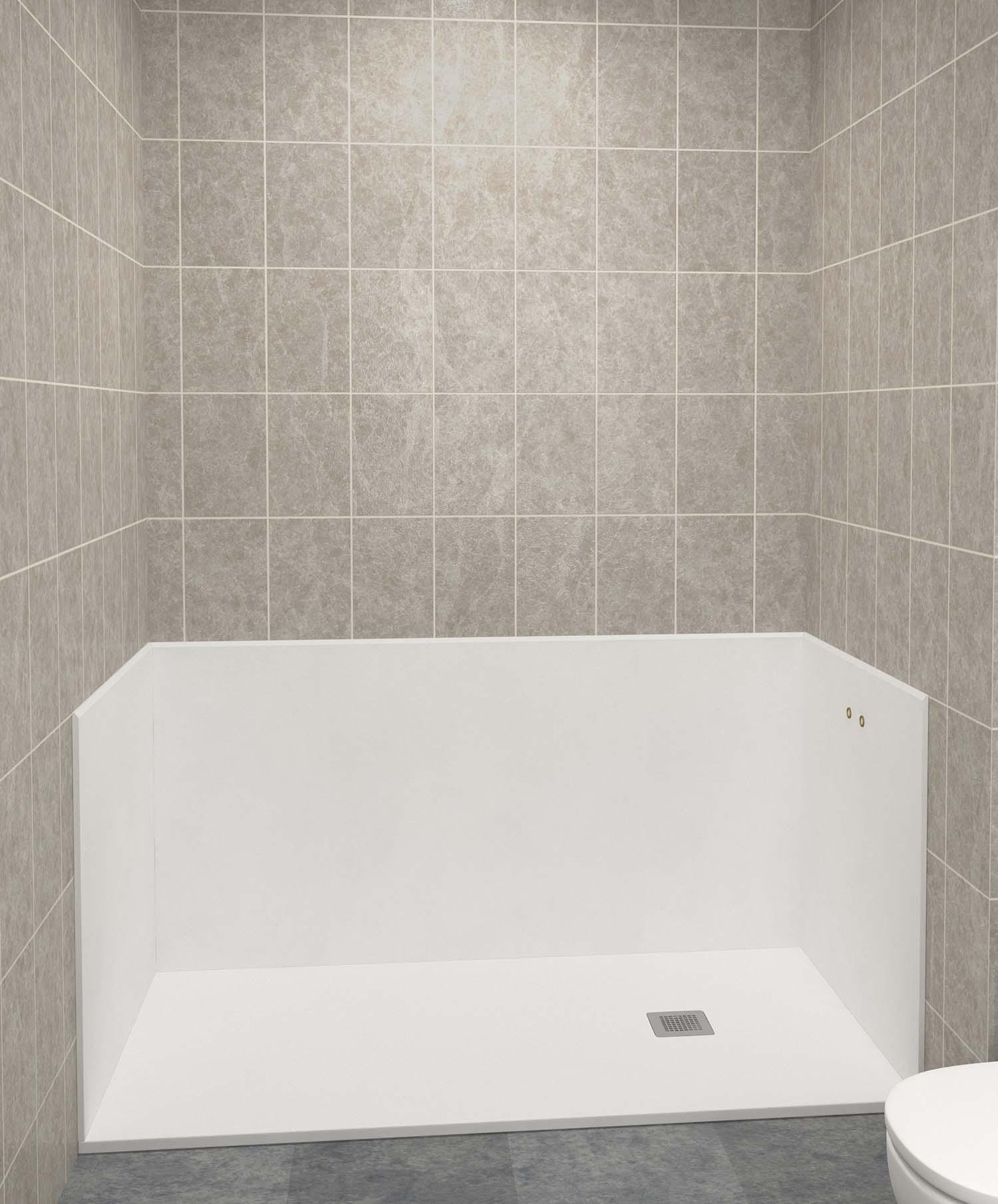remplacer baignoire par douche prix comment remplacer une. Black Bedroom Furniture Sets. Home Design Ideas