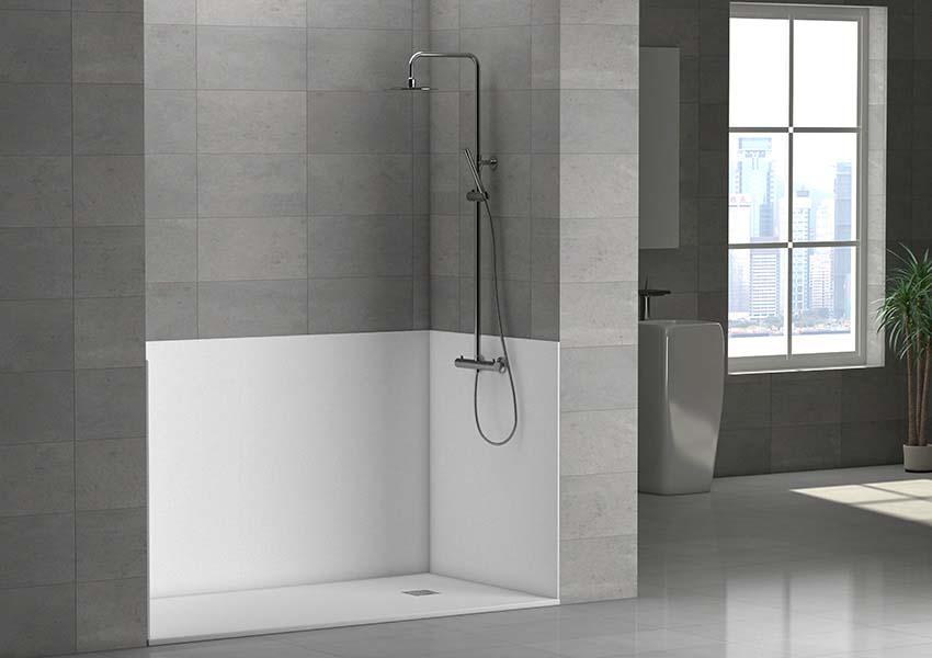 remplacement baignoire par douche de duchaya revtement de. Black Bedroom Furniture Sets. Home Design Ideas