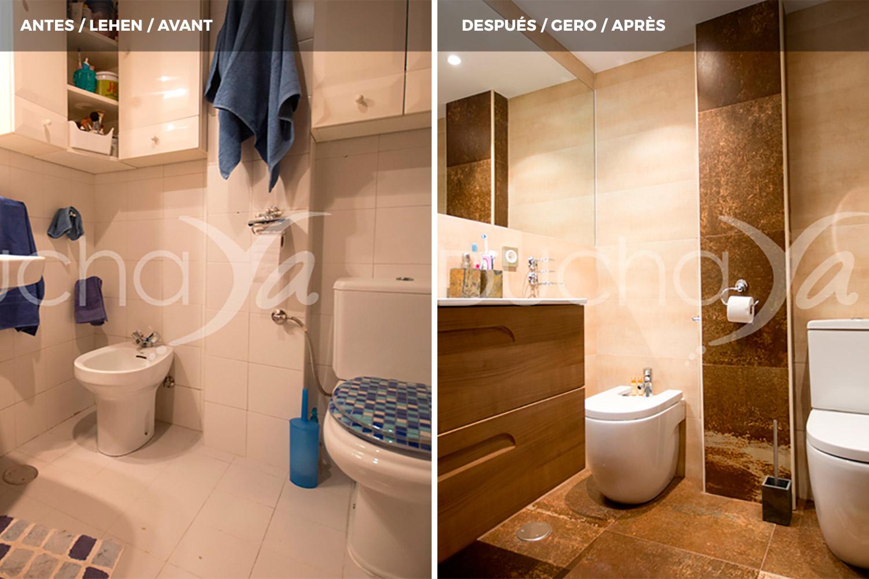Antes y despu s de cambios de ba era por ducha duchaya - Banera a ducha ...