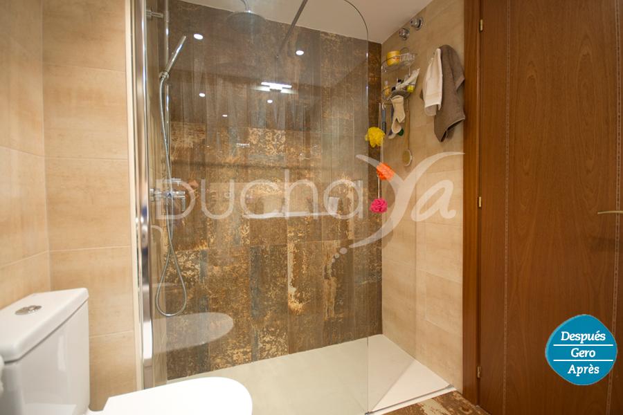 Cambio Bañera por Ducha de DuchaYa en Donosti Beraun 8