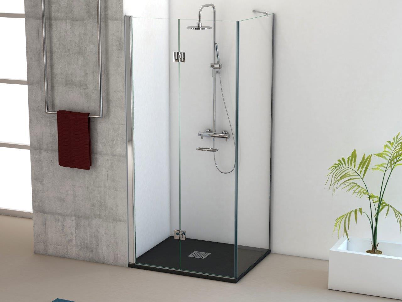 Mamparas plegables para ducha elegant mampara para ducha - Mamparas ducha plegables ...