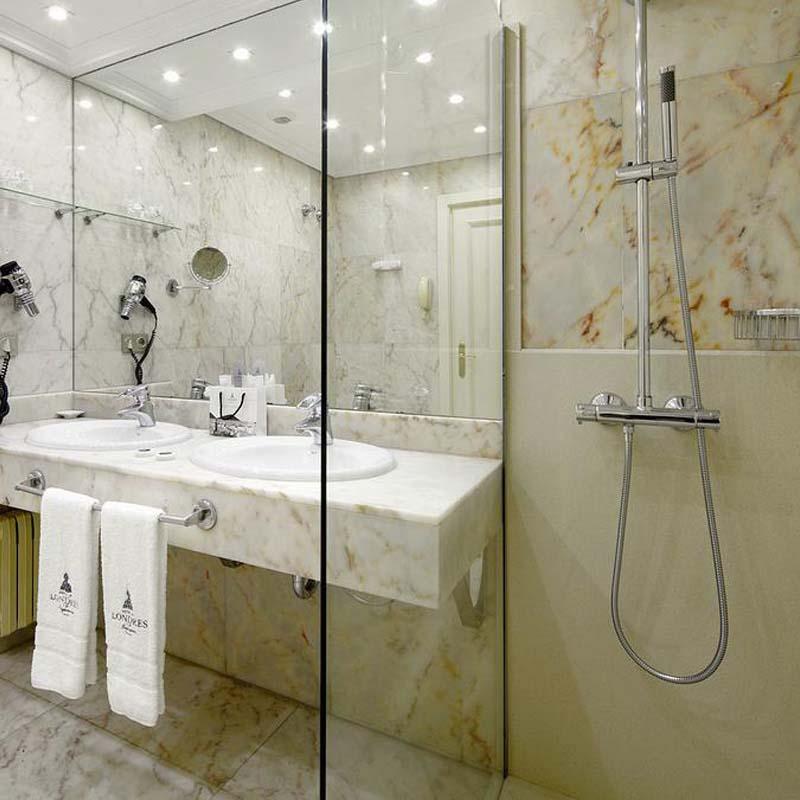 Cambio Bañera por Ducha de DuchaYa en Donosti Hotel Londres 5