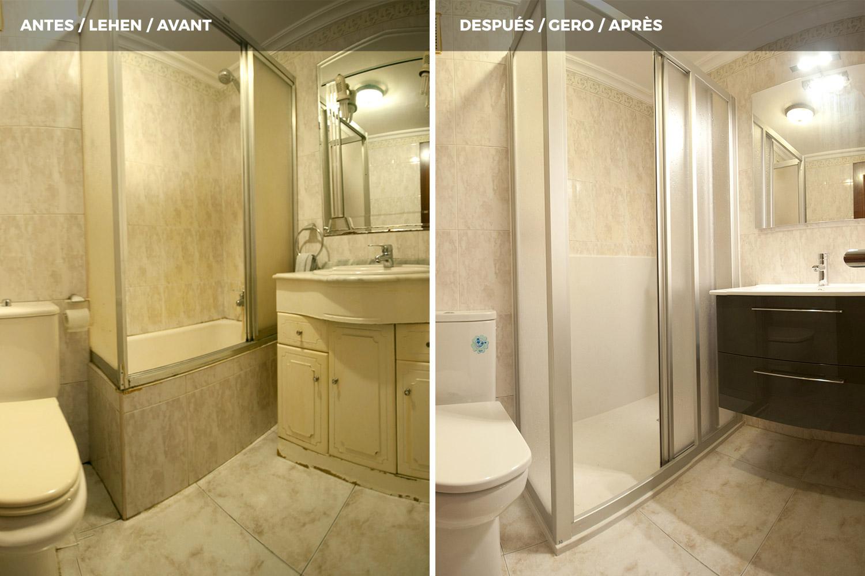 Convertir baera en ducha latest ideas para cambiar baera - Convertir banera en ducha ...