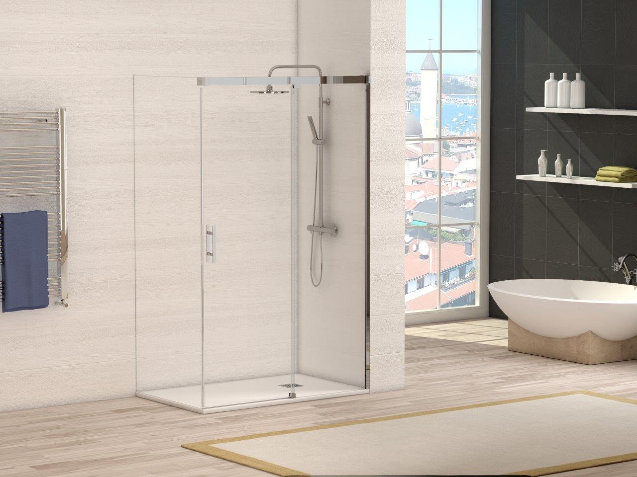Mamparas de ducha para tu ba o - Mamparas para duchas fotos ...